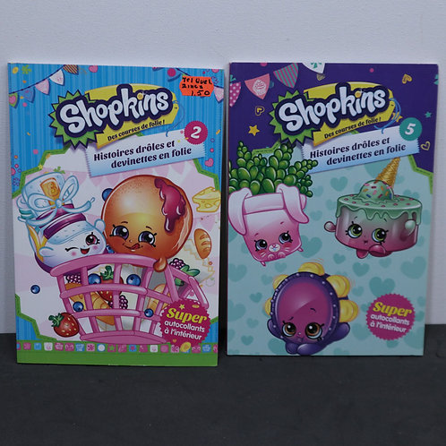 2 Livres Shopkins