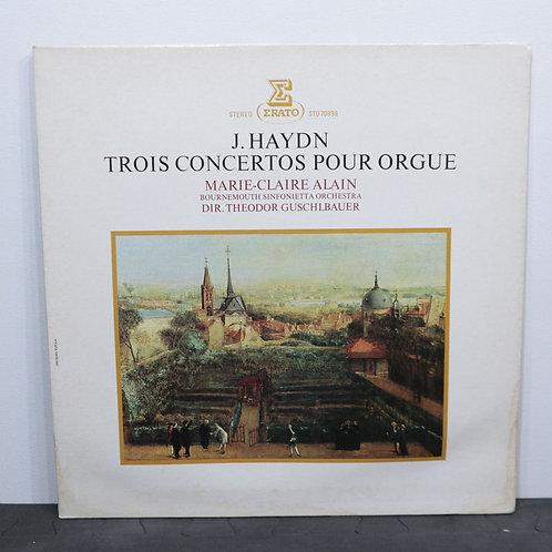 Trois concertos pour orgue / J. Haydn