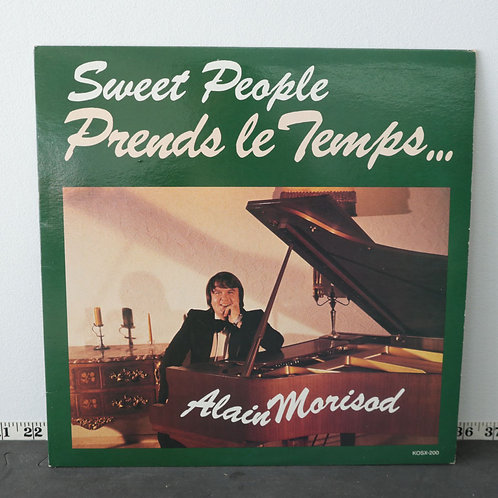 Sweet People Prends le Temps - Alain Morisod