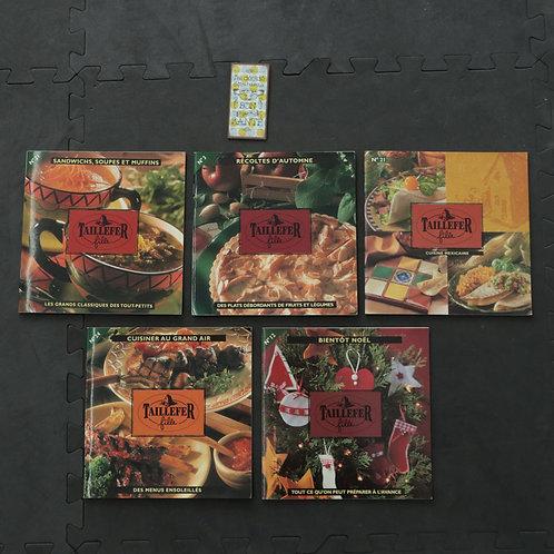 5 livres cuisine Taillefer