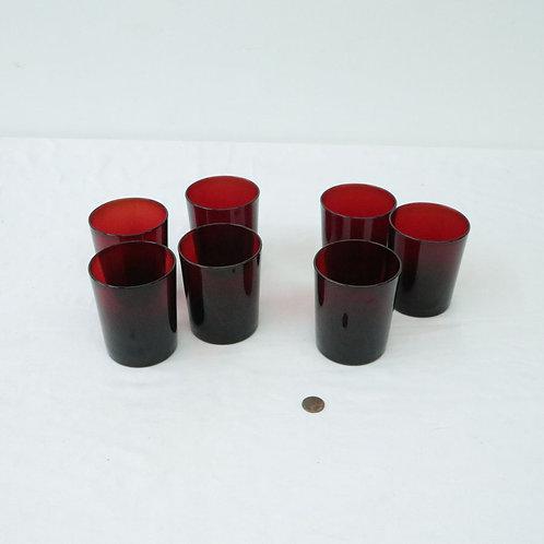 7 verres
