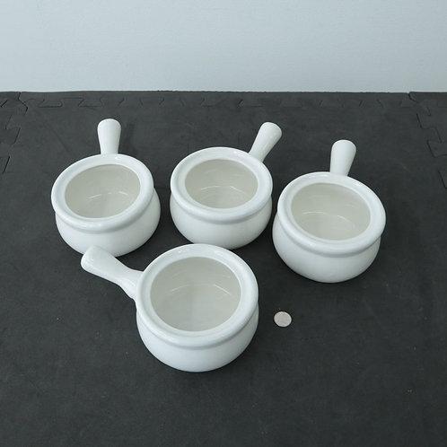 4 bols à soupe à l'oignon