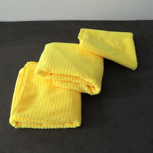 3 linges à vaisselle microfibre