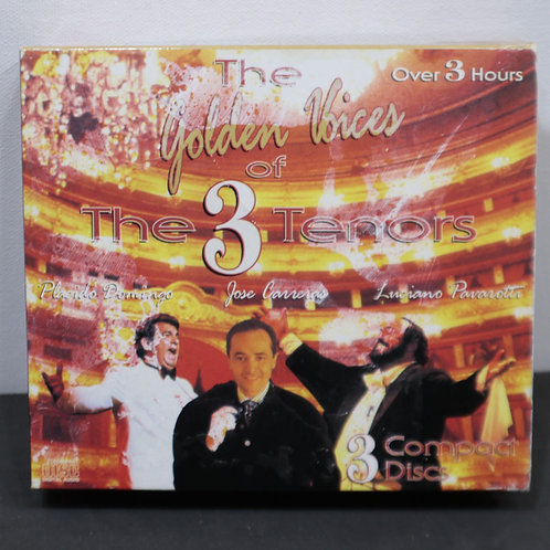 The golden voices of the 3 ténors (3 cds)