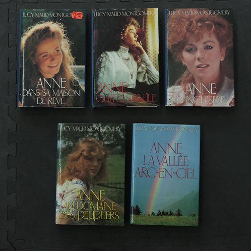 Anne dans sa maison de rêve ... (5 livres)