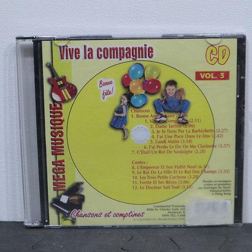 Vive la compagnie vol. 5 - Chansons et comptines