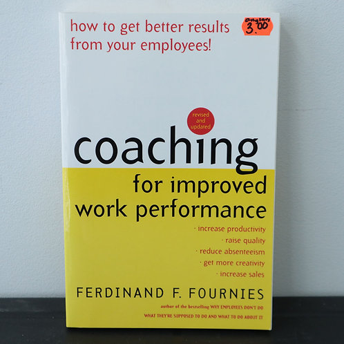 Coaching - Ferdinand F. Fournies