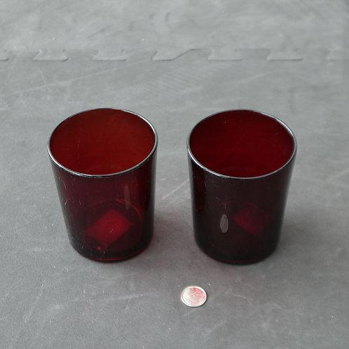 2 verres rouges