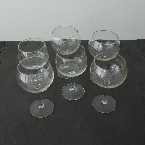 6 coupes à vin