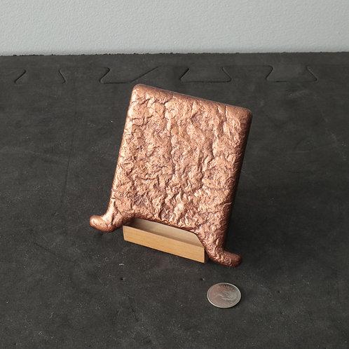Anode miniature de cuivre
