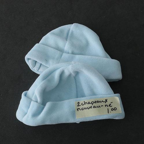 2 chapeaux (nouveau-né)