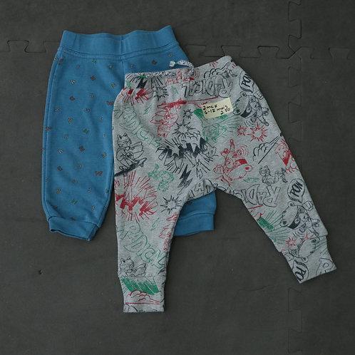 2 Pantalons (6-12 mois)