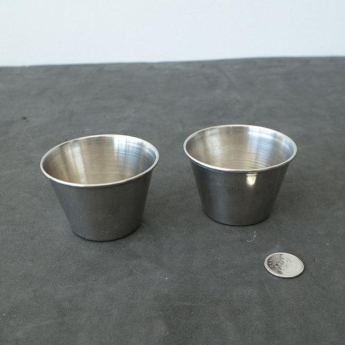 2 mini-plats en métal