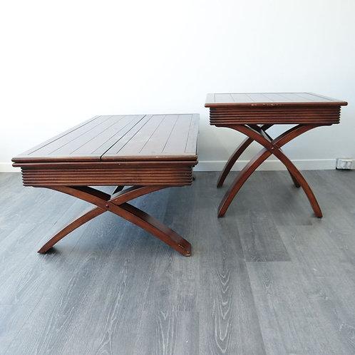 2 tables de salon ou autres