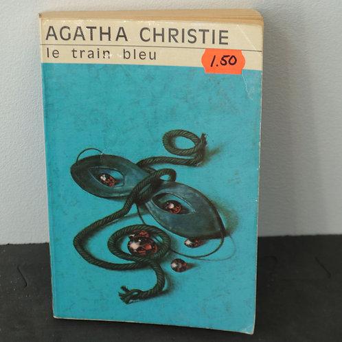 Le Train Bleu - Agatha Cristie