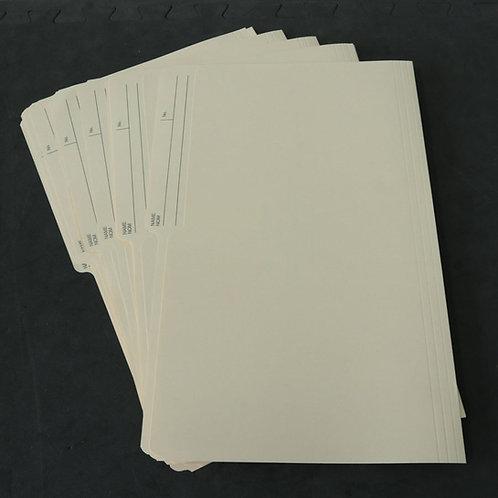 12 fichiers (format légal)