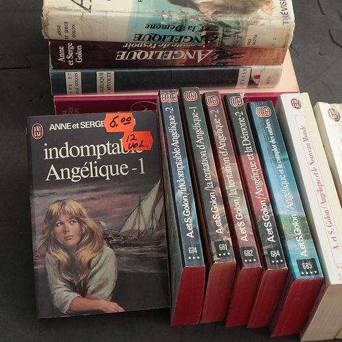 Angélique- 12 volumes