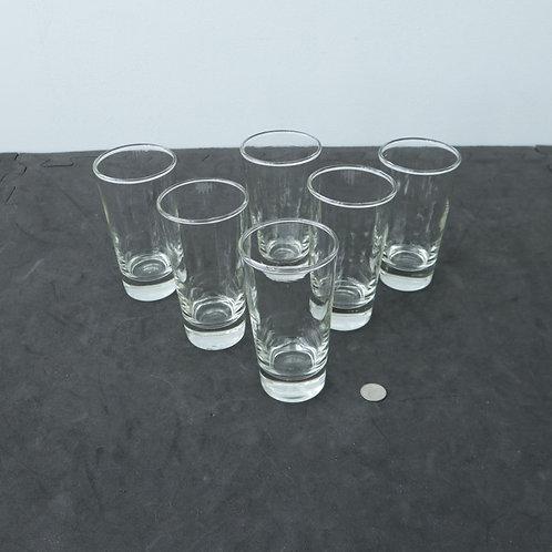 6 verres à jus