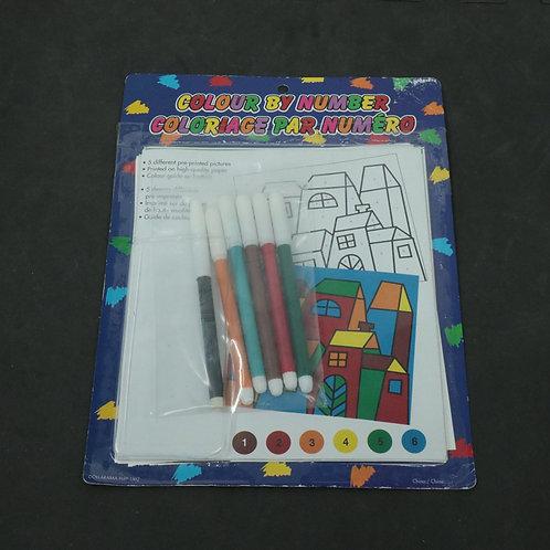 à colorier avec crayons