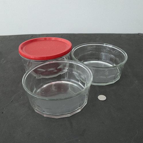 3 Bols en verre