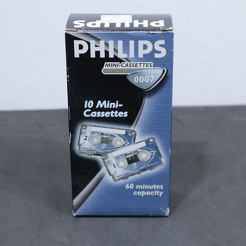 10 Mini-cassettes
