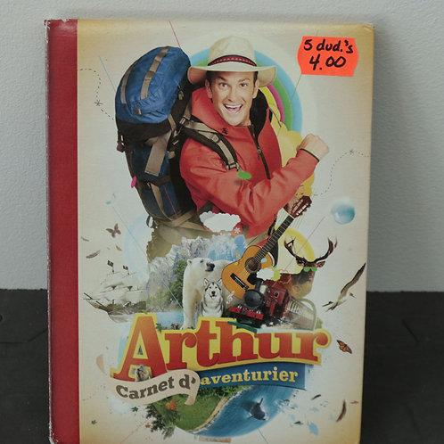 Arthur Carnet d'Aventurier (5 DVD)
