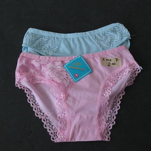 2 Sous-vêtements (Femme  Petit)