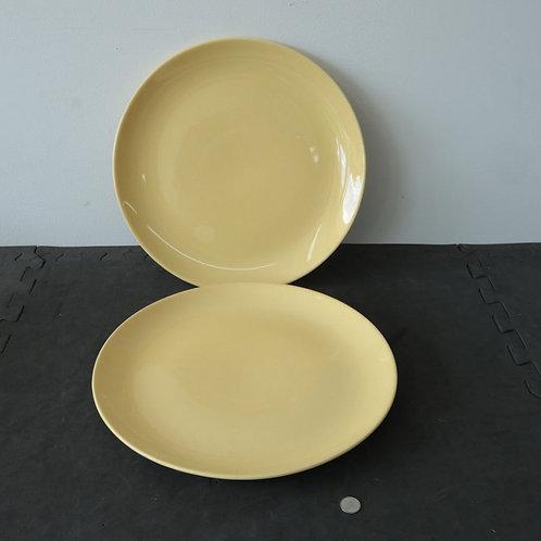 2 très grandes assiettes