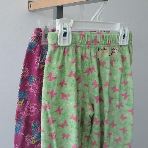 2 Pantalons de pyjama (6/6X ans)