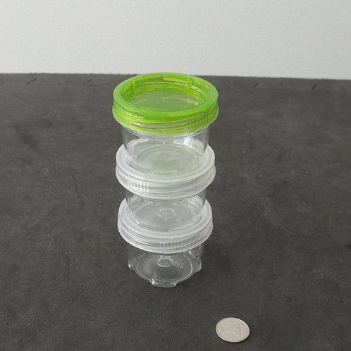 3 petits contenants hermétiques