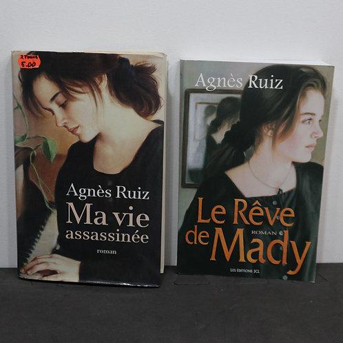 2 Livres de Agnès Ruiz