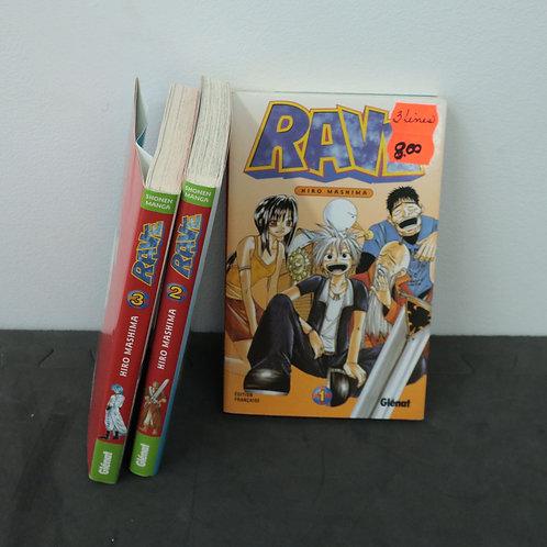 3 livres - Rave