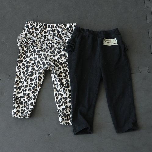 2 pantalons (12-18 mois)