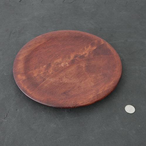 Assiette décorative en bois