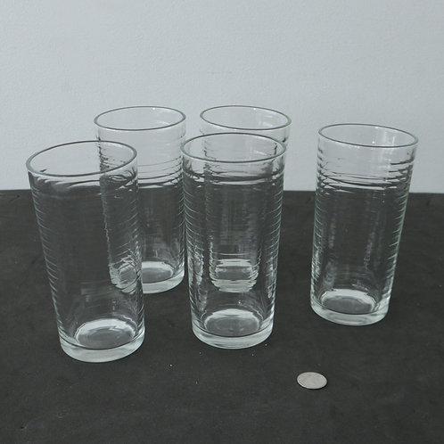 5 verres