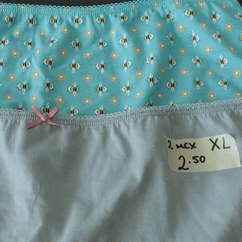 2 Sous-vêtements (Femme X- Large)