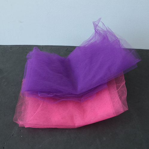 Divers foulards en filet