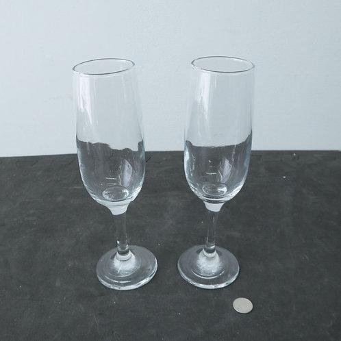 2 flutes à champagne