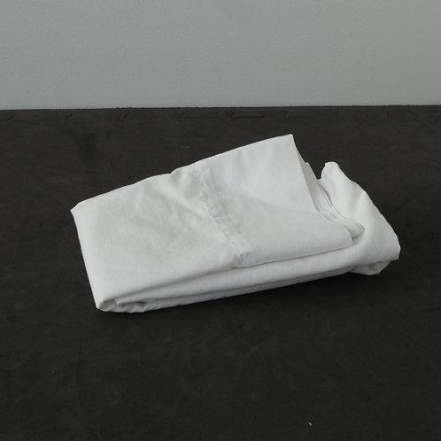 Taie d'oreiller blanche