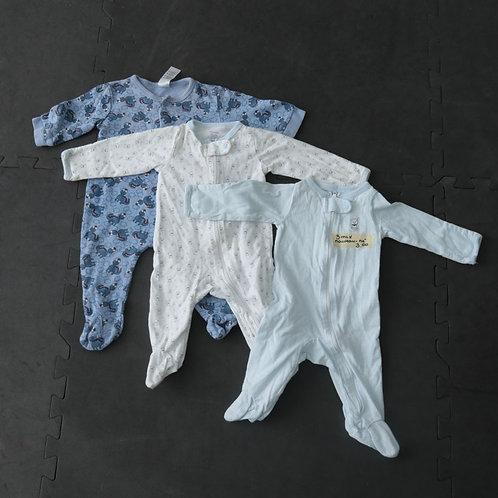 3 Pyjamas (nouveau-né)