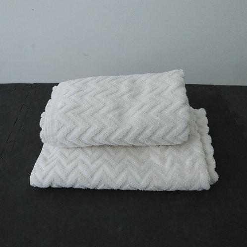 2 grandes serviettes