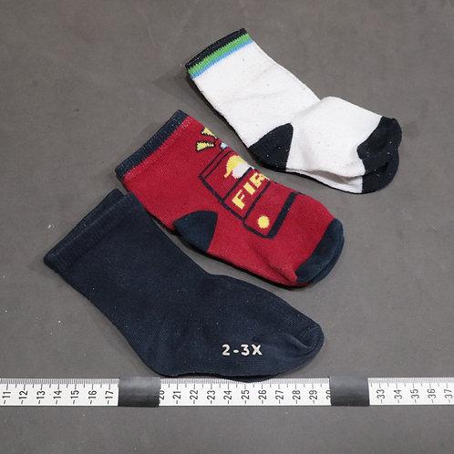 3 paires de petits bas