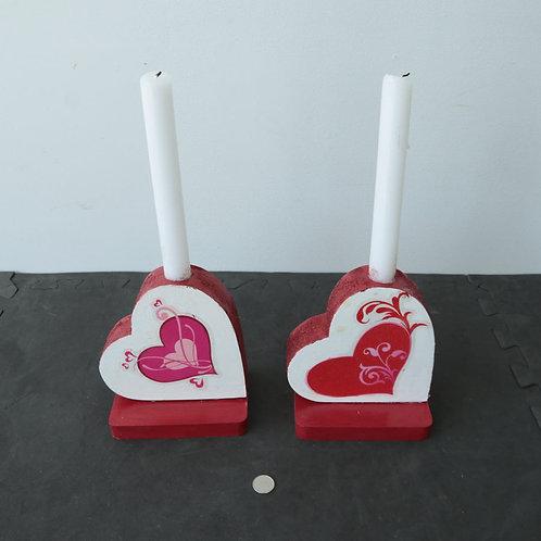 2 chandeliers de St-valentin