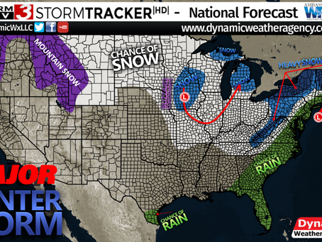 Major Winter Storm- High Winds and Blizzard Conditions