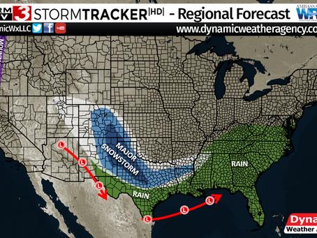 Upcoming Major Winter/Snowstorm and Potential Polar Vortex