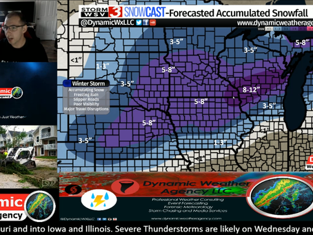 Another Major Winter Storm and Severe Weather