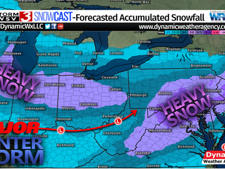 Major Winter Storm System- Heavy Snow and Nor'easter