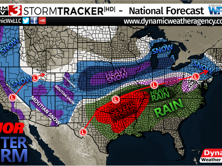 Major Winter Storm- Wintry Mess & Heavy Snow