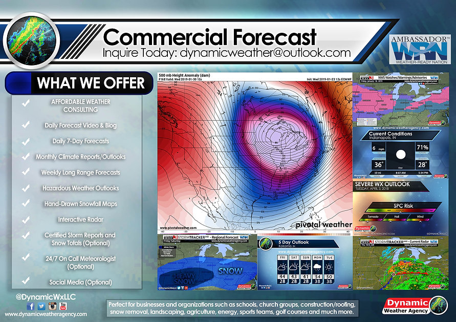 Commercial Forecast | Dynamic Weather Agency LLC