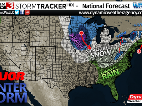 Major Winter Storm, Windy Conditions, and Blizzard Warnings